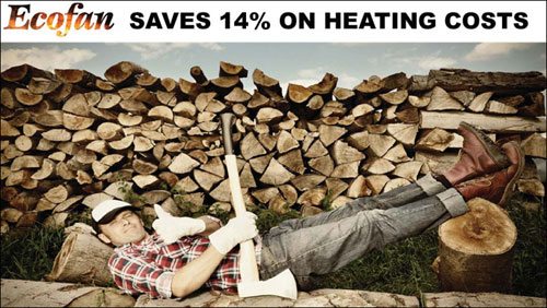 Ecofan 14% Saving on Heating